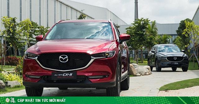 Bảng giá xe Mazda CX-5 lăn bánh mới nhất tháng 8/2020