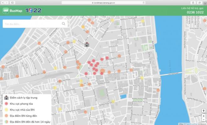 'Bản đồ Covid' của BusMap: Chủ động vị trí, tránh dịch Cô-vy - 3