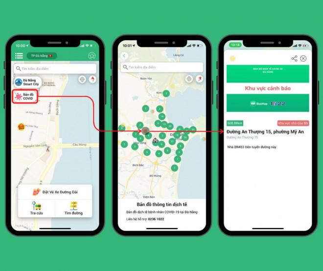 'Bản đồ Covid' của BusMap: Chủ động vị trí, tránh dịch Cô-vy - 2