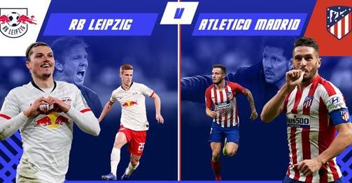 Trực tiếp bóng đá RB Leipzig - Atletico Madrid: Khởi đầu tốc độ