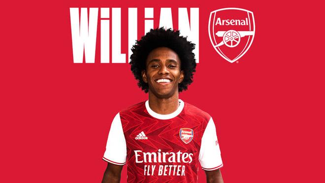 """""""Bom tấn"""" đầu tiên của Ngoại hạng Anh: Willian chính thức sang Arsenal - 1"""