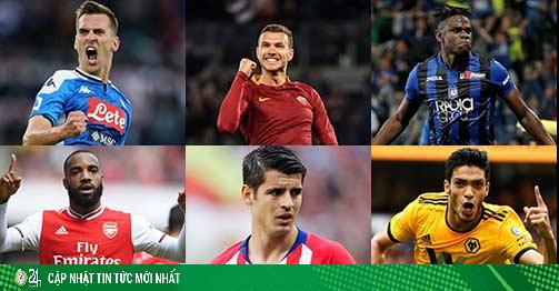Tin nóng chuyển nhượng 16/8: 6 tiền đạo được Juventus quan tâm là ai?