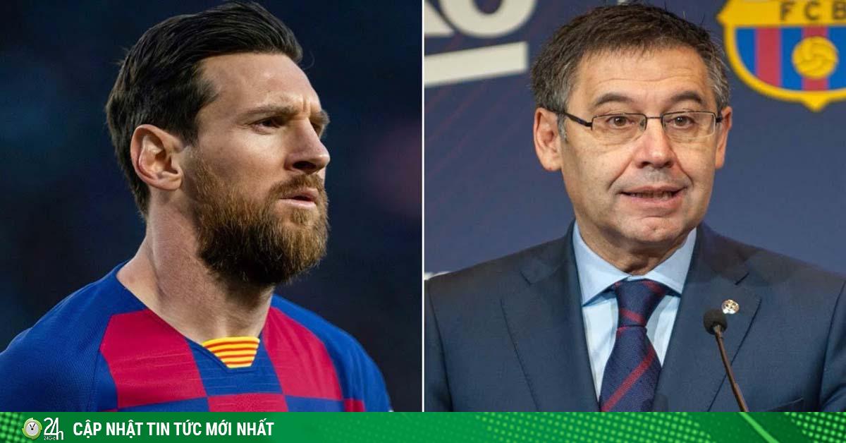 Barca thua chấn động Cúp C1: Lỗi ở Messi hay ông trùm Bartomeu?