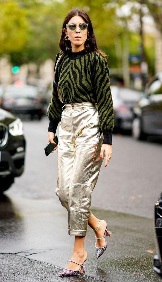 6 kiểu họa tiết xinh mùa mát dành cho quý cô sành mặc - 12