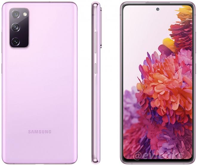 Galaxy S20 Fan Edition lộ diện 6 phiên bản màu đẹp long lanh - 3