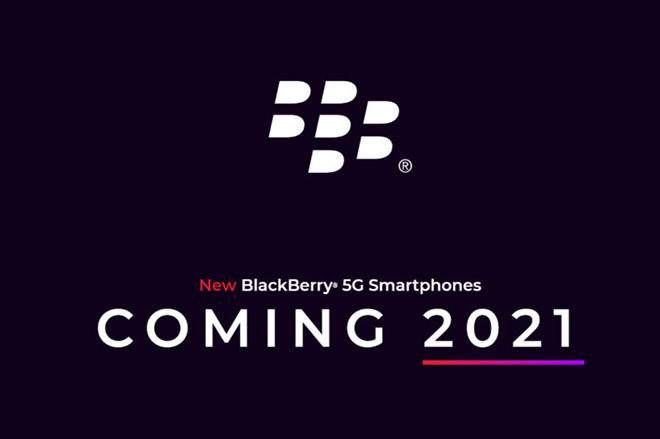 HOT: Điện thoại BlackBerry hẹn ngày trở lại, tiến ngay đến 5G - 1