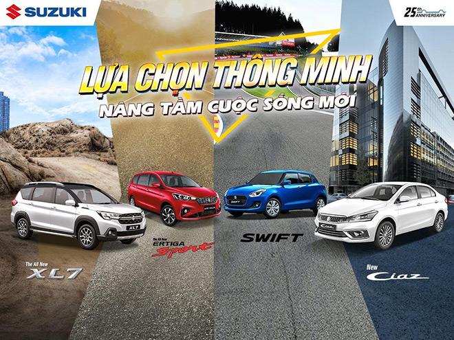 Suzuki – lựa chọn thông minh nâng tầm cuộc sống mới