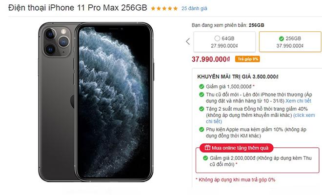Loạt iPhone đang giảm giá mạnh tại Việt Nam - 2