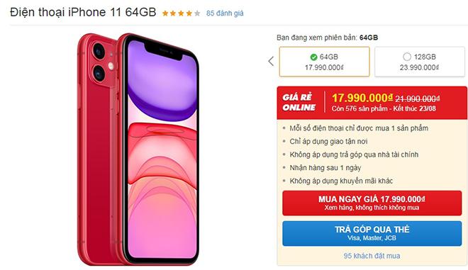 Loạt iPhone đang giảm giá mạnh tại Việt Nam - 3