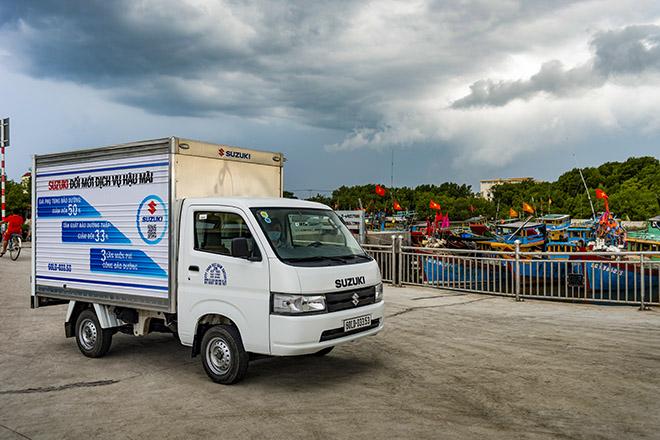 Suzuki Việt Nam giới thiệu dòng xe tải nhẹ Super Carry Pro mới - 1