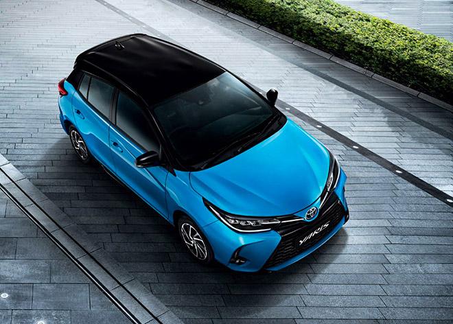 Toyota Yaris phiên bản nâng cấp chính thức có mặt tại Thái - 1