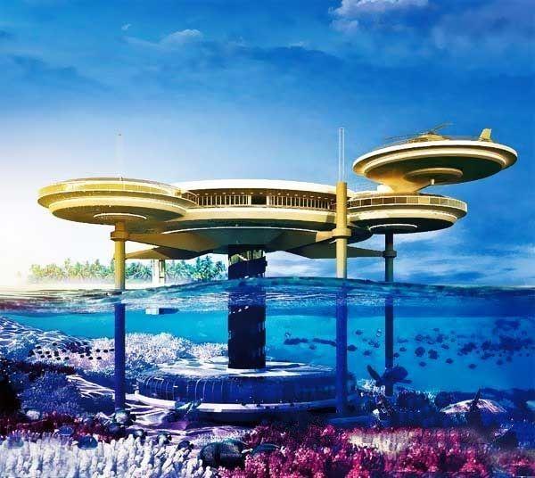 Trải nghiệm khách sạn dưới đáy biển độc nhất thế giới - 3