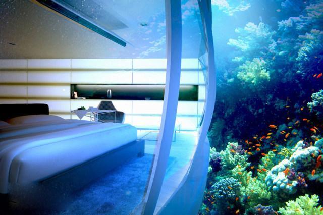 Trải nghiệm khách sạn dưới đáy biển độc nhất thế giới - 9