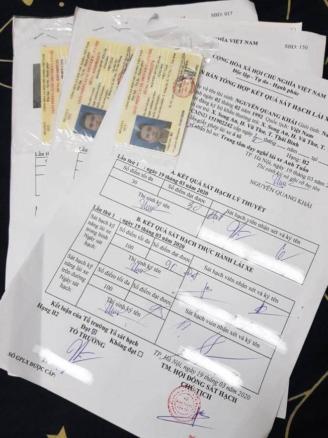 Mất hồ sơ gốc, người lái xe có được cấp, đổi bằng lái - 1