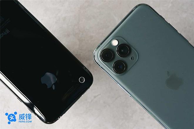 """iPhone 11 Pro vượt trội ra sao so với """"siêu phẩm 2010""""? - 2"""