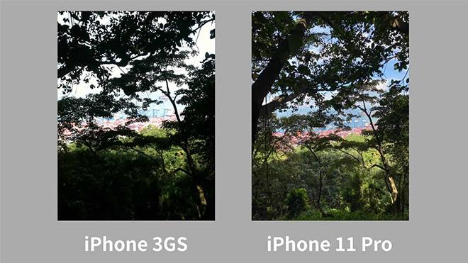"""iPhone 11 Pro vượt trội ra sao so với """"siêu phẩm 2010""""? - 3"""