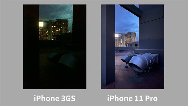 """iPhone 11 Pro vượt trội ra sao so với """"siêu phẩm 2010""""? - 4"""