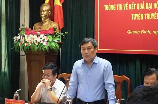 Tỉnh ủy Quảng Bình hủy khoản mua sắm cặp da phục vụ Đại hội - 1