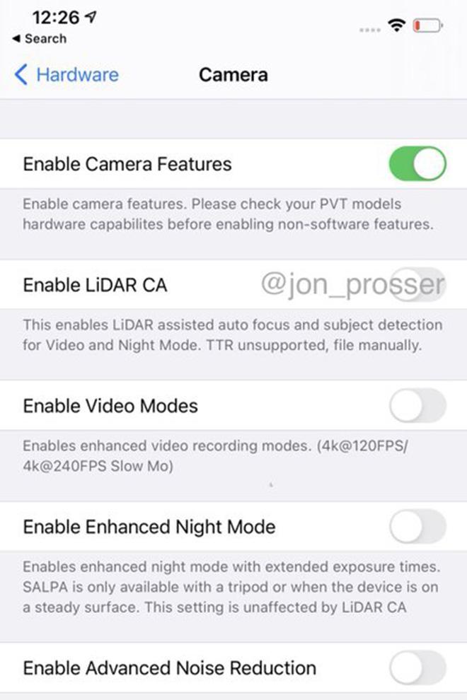 Camera iPhone 12 Pro sẽ được nâng cấp chụp ảnh đêm ấn tượng-2