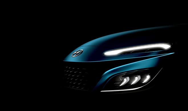 Hyundai Kona 2021 lộ thiết kế, có thêm bản hiệu suất cao - 2