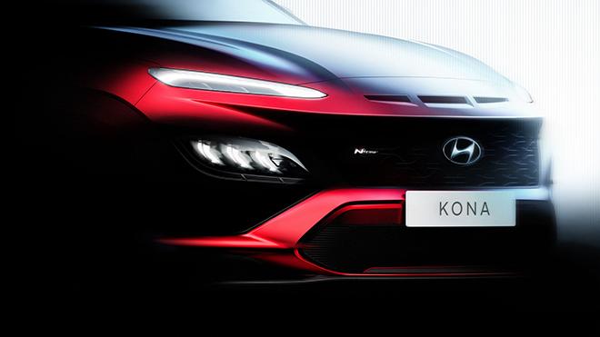 Hyundai Kona 2021 lộ thiết kế, có thêm bản hiệu suất cao - 3