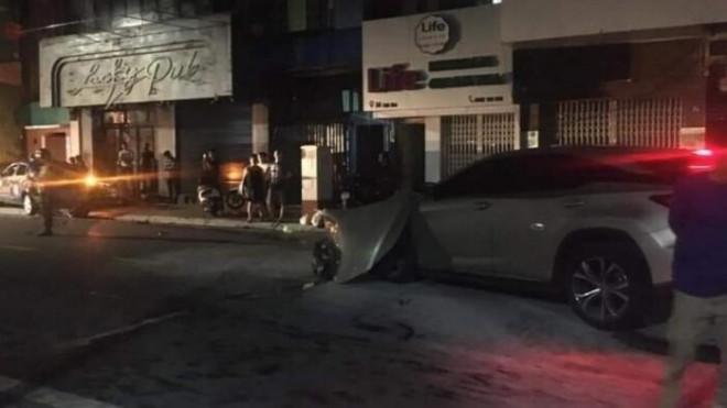 Khởi tố con đại gia ngành thép say rượu lái Lexus đâm chết cán bộ công an - 1