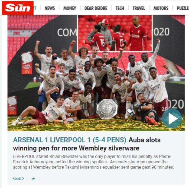 Báo chí Anh ngả mũ Arsenal: Hạ Liverpool, đoạt 2 danh hiệu trong 28 ngày - 4