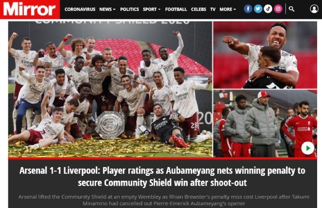 Báo chí Anh ngả mũ Arsenal: Hạ Liverpool, đoạt 2 danh hiệu trong 28 ngày - 3