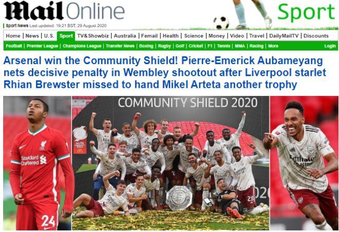 Báo chí Anh ngả mũ Arsenal: Hạ Liverpool, đoạt 2 danh hiệu trong 28 ngày - 1