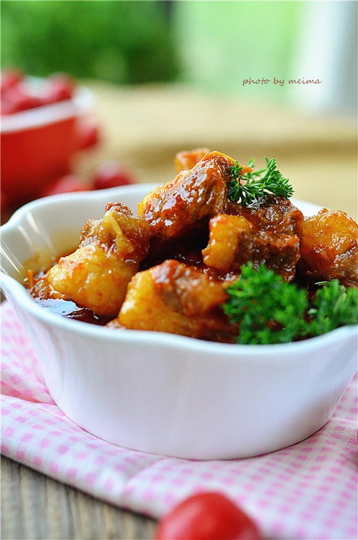 Bò kho sốt cà chua cứ làm chuẩn theo công thức này, dù vụng mấy cũng đều được khen ngon - 6
