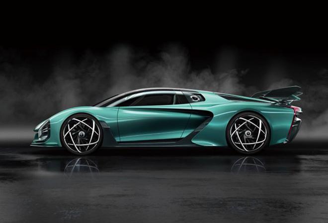 Trung Quốc ra siêu xe giá 33 tỉ cạnh tranh với Lamborghini