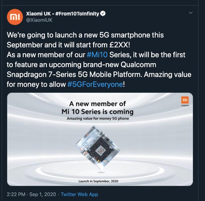 Xiaomi sắp tung smartphone 5G giá dễ thương - 2