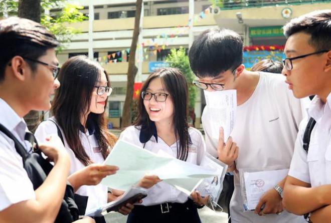 Công bố điểm sàn của một số trường đại học trên tại Hà Nội - 1