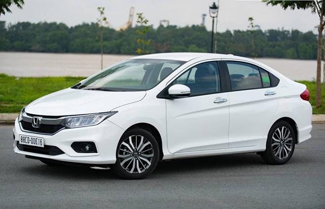 Giá lăn bánh xe Honda City mới nhất tháng 9/2020 - 2