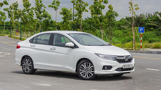 Giá lăn bánh xe Honda City mới nhất tháng 9/2020 - 1