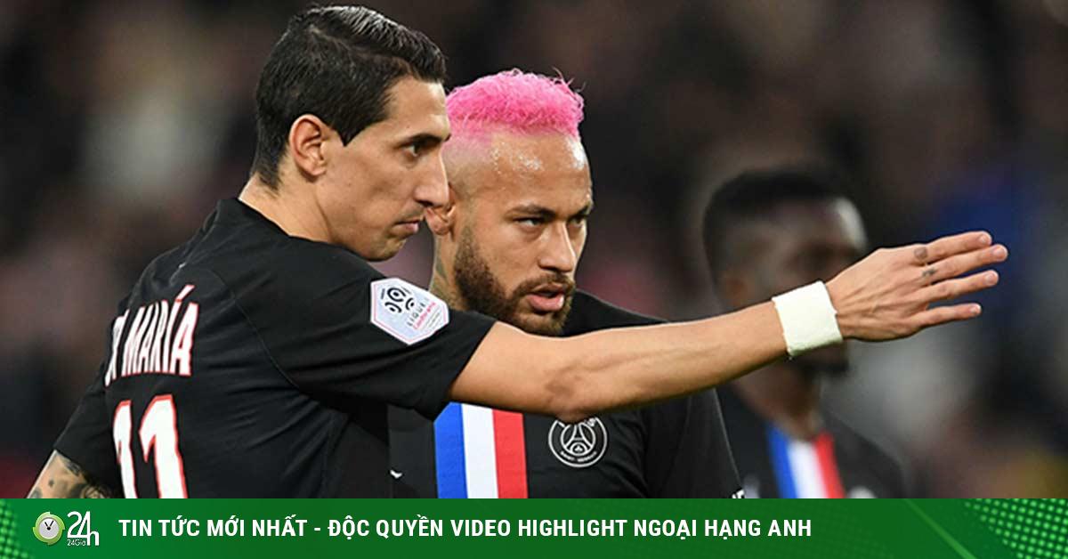 PSG náo loạn vì Covid-19: Di Maria dính, Neymar cũng bị?