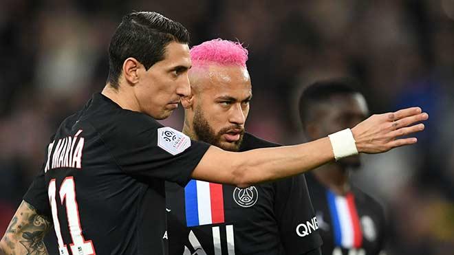 """PSG náo loạn vì Covid-19: Di Maria """"dính"""", Neymar cũng bị? - 1"""