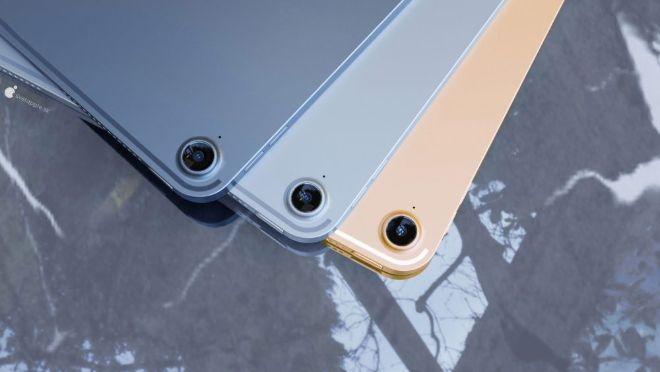 iPad Air 4 đẹp ngỡ ngàng trong dáng hình iPad Pro - 4