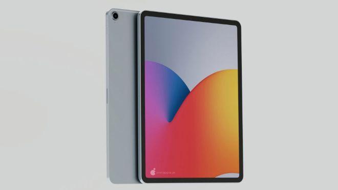 iPad Air 4 đẹp ngỡ ngàng trong dáng hình iPad Pro - 7