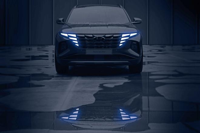 Hyundai tiếp tục nhá hàng Tucson 2021 trước thềm ra mắt chính thức