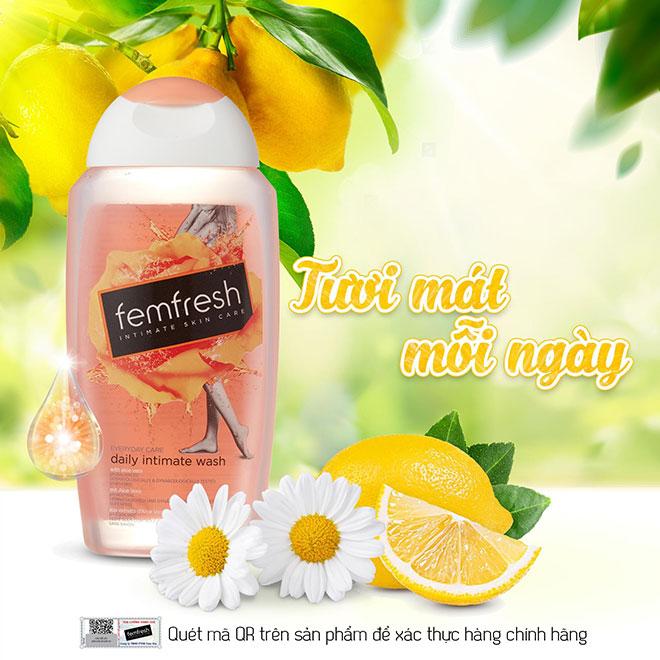 Femfresh thương hiệu dung dịch vệ sinh phụ nữ cao cấp Anh Quốc đã chính thức có mặt tại Việt Nam. - 2