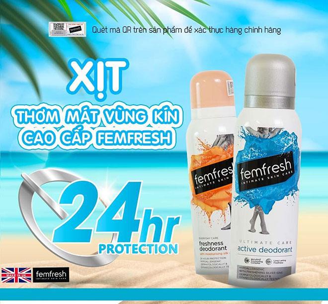 Femfresh thương hiệu dung dịch vệ sinh phụ nữ cao cấp Anh Quốc đã chính thức có mặt tại Việt Nam. - 4