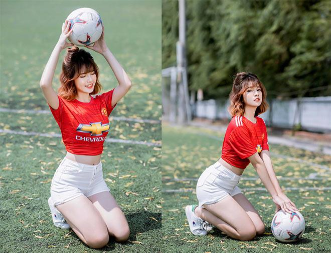 Hot girl mê MU dự đoán sốc số phận các đội Ngoại hạng Anh mùa giải mới