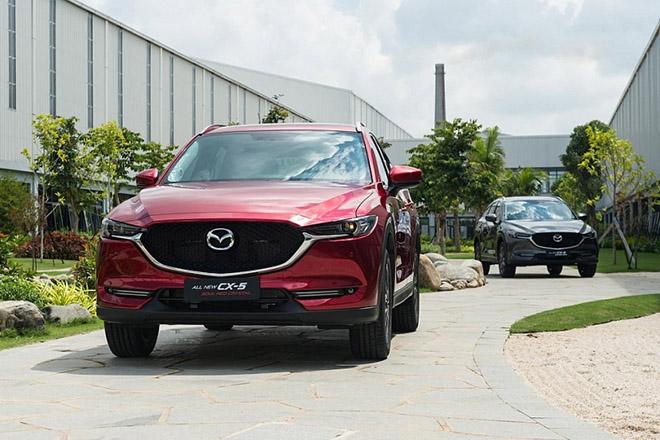 Giá xe Mazda CX-5 lăn bánh mới nhất tháng 9/2020