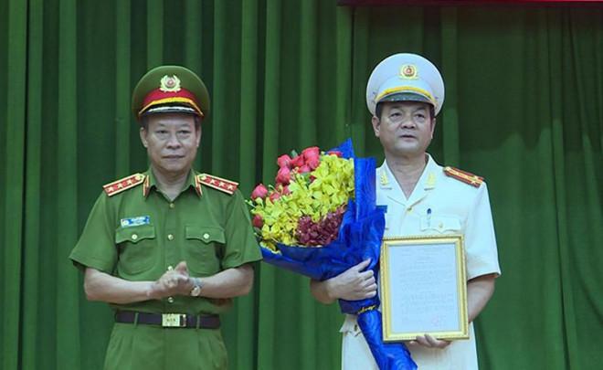 Giam đốc Cong An Tp Hcm được Thăng Ham Thiếu Tướng