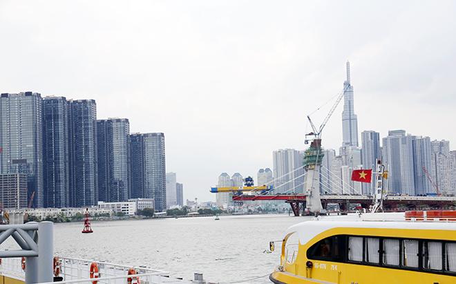 Cầu nghìn tỷ biểu tượng mới của TP.HCM bắc qua sông Sài Gòn khi nào hoàn thành?
