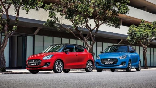 Suzuki Swift 2021 giá từ 444 triệu đồng được nâng cấp những gì?