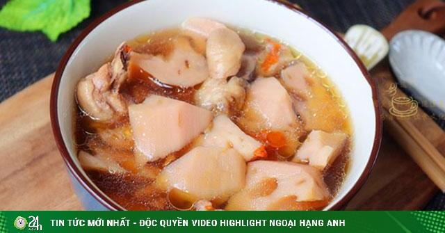Gà hầm củ sen bằng nồi cơm điện, món ăn cực kỳ bổ dưỡng trong Đông y