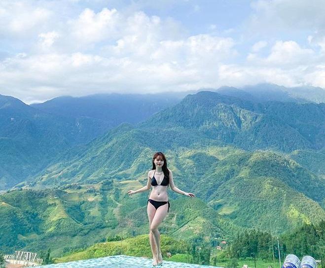Bạn gái Quang Hải phá vỡ hình tượng nhu mì khi diện bikini khoe body đầy đặn, bốc lửa - 3