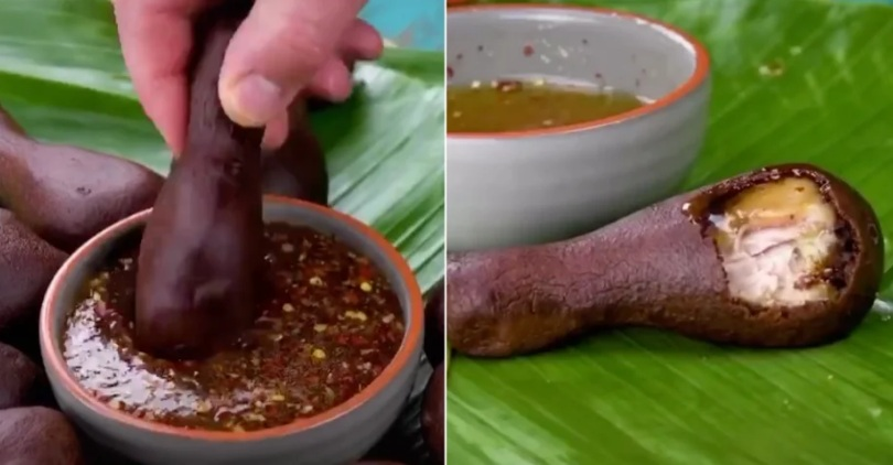 Món gà rán phủ socola gây tranh cãi trên MXH - 1
